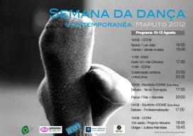 Contemporary dance week 2012