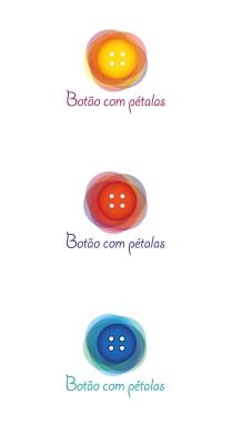 Logo Botao com petalas